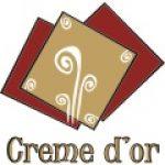 Creme d´or Roman<br />Corporate identity, naming, logo; produse publicitare personalizate, firme luminoase